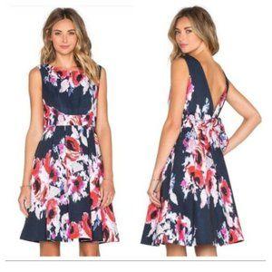Kate Spade Hazy Floral Fit & Flare Dress